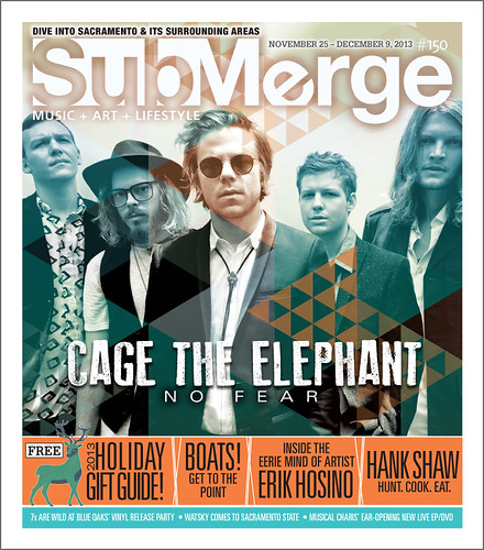 Cage the Elephant -L-Submerge_Mag_Cover