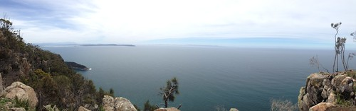 Panorama, Port Arthur to the far South