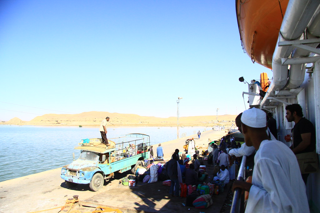 Ferry to Aswan, Egypt