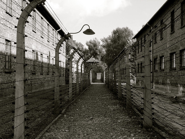 Security at Auschwitz I