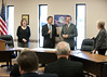 12/11/2013 Governor Bill Haslam presents a grant to the city of Spencer by Governor Bill Haslam
