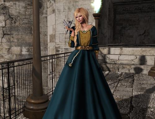 Les Encantades Margaery Azur by Zipiღbusy