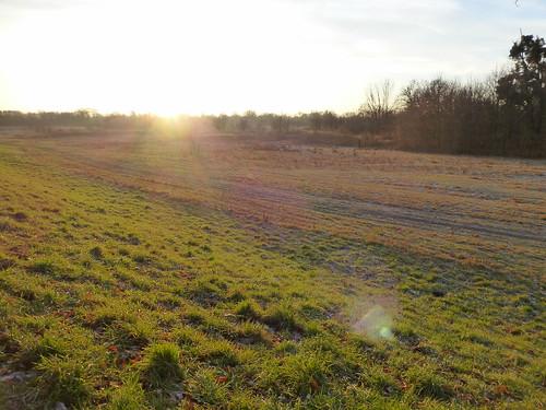 sunrise słońce wrocław blask
