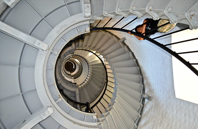ponce inlet lighthouse - 203 steps up
