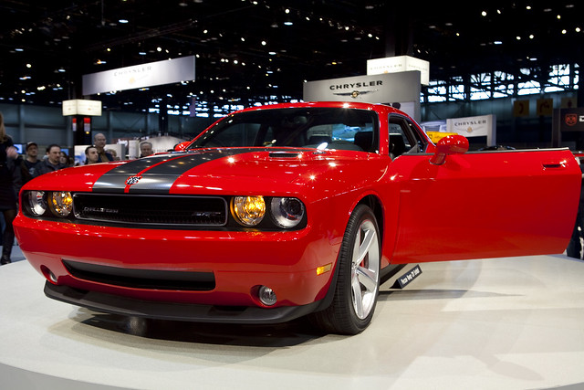 Dodge Challenger at the Chicago Auto Show