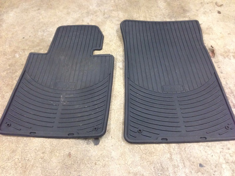 E46 OEM BMW Rubber All weather Mats E46