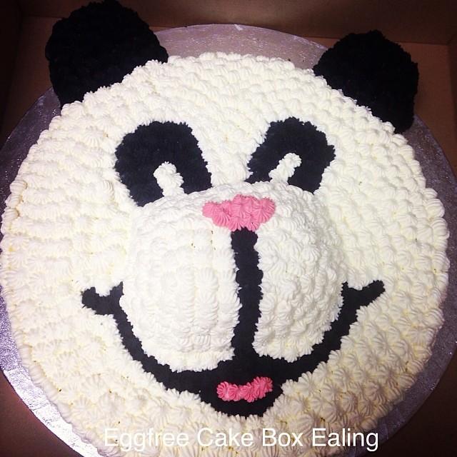 Panda Cake Cake Cakebox Novelty Vegetarian Cakeboxeal Flickr