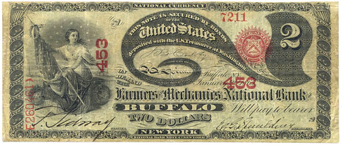 Buffalo-Spaulding bank note
