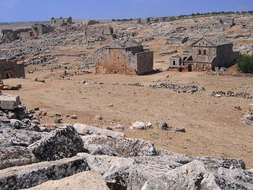 Foto de una de las ciudades muertas (Siria)