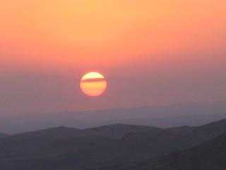 Atardecer en Palmira (Siria)