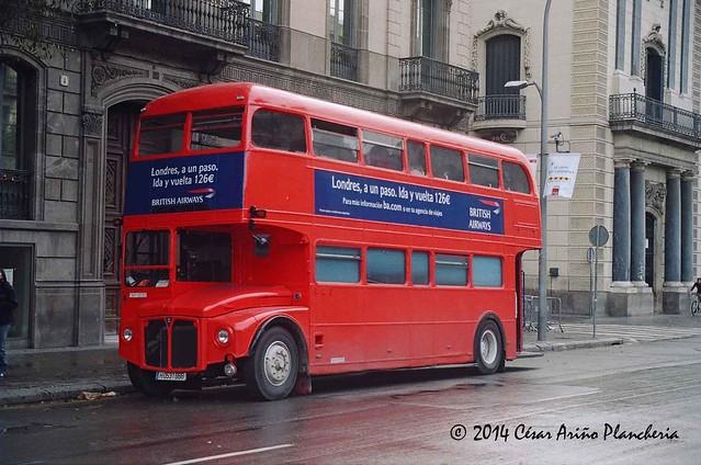 AEC Routemaster ex LT en Barcelona 2009