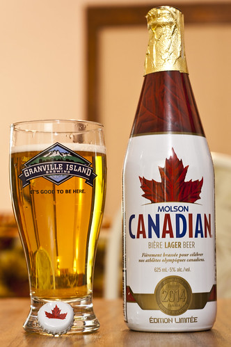 Impulse Buy: Molson Canadian Limited Edition Victory Bottle 2014 by Cody La Bière