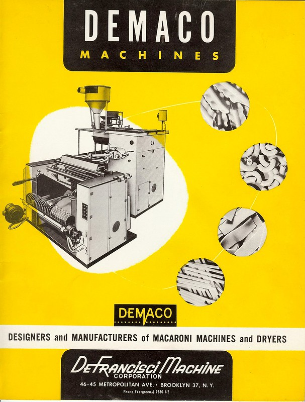 DEMACO Machines 1950's brochure