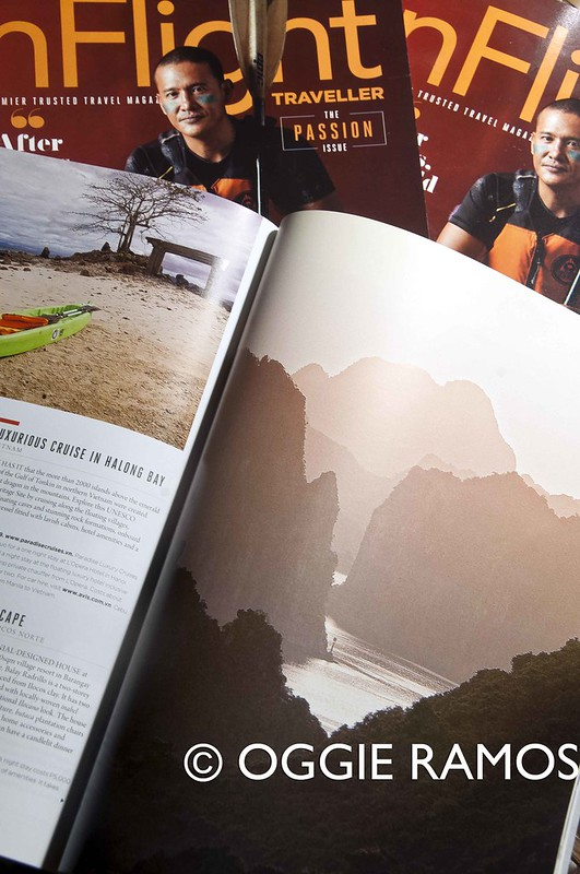 InFlight Magazine Jan 2014 - Halong Bay Featured