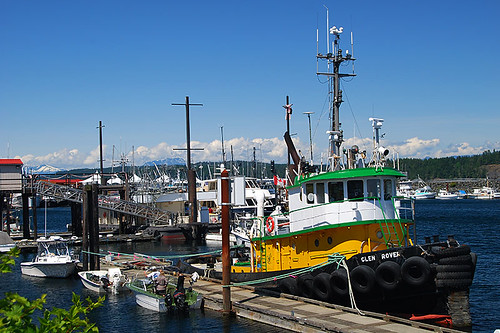 Discovery Harbour Marina, Campbell River, Vancouver Island, British Columbia, Canada