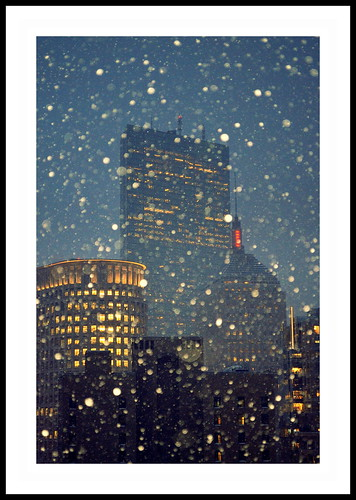 Boston in the snow by anothercyclist