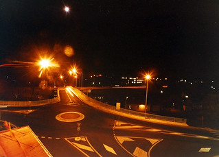 Yeaman Bridge, Night