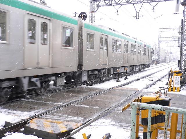 近鉄久津川駅にて