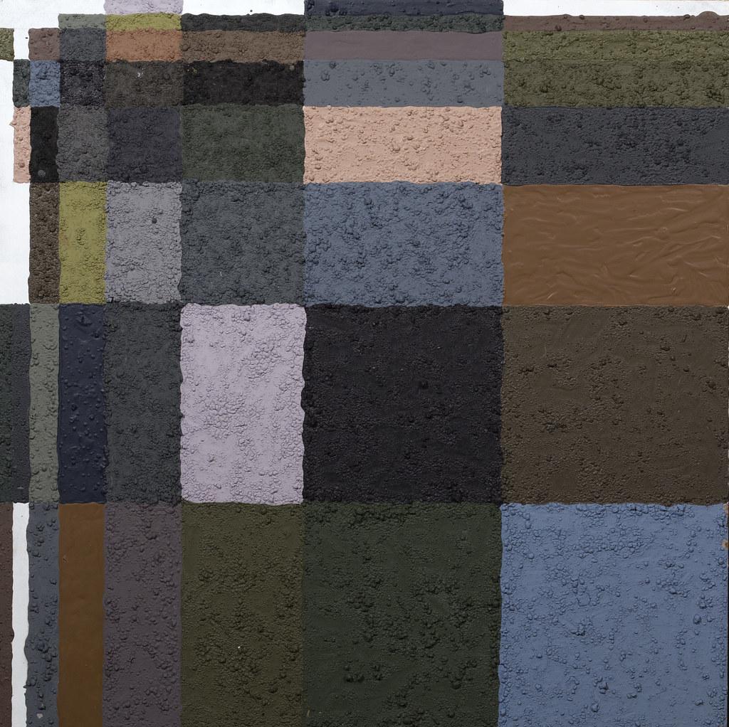 Wesley Davis 4 x 4 4' x 4' Acrylic, Dirt 2013
