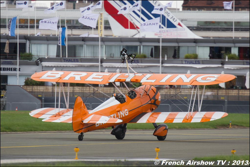 Breitling Wingwalkers,Salon du Bourget 2013,Paris Airshow 2013