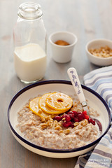 Porridge with Caramelized Quince Cranberries-0014