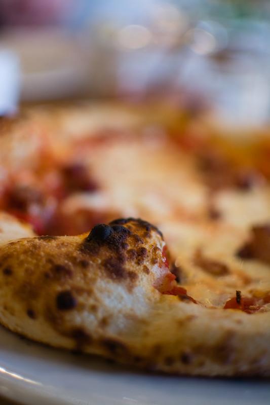 pizza crust at Pastaria