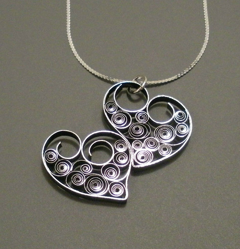 Quilled-Double-Heart-Necklace
