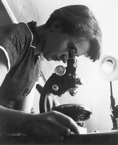 Scientist Rosalind Franklin made the first clear X-ray images of DNA's structure. Franklin's 'Photo 51' informed Crick and Watson of DNA's double helix structure for which they were awarded a Nobel Prize. Franklin died