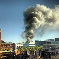Fire at 4th and China Basin