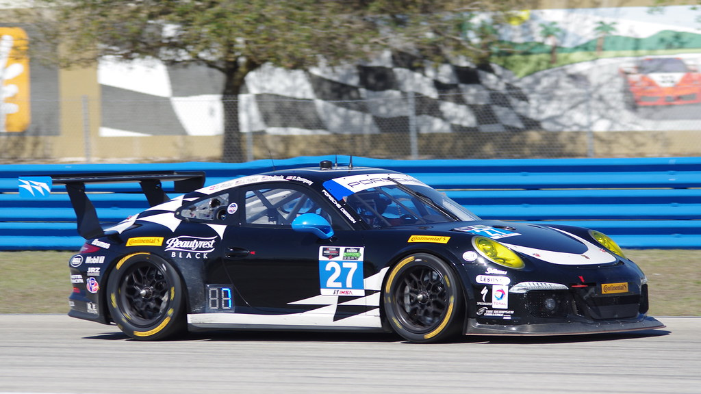 Sebring 2014 - #27 GT Daytona - Dempsey Racing Porsche 911/997 - Joe Foster / Patrick Dempsey / Andrew Davis