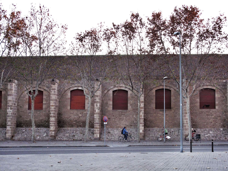 reales atarazanas barcelona_fachada_alzado lateral
