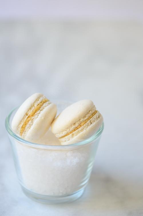 Salted Butter Caramel Macaron