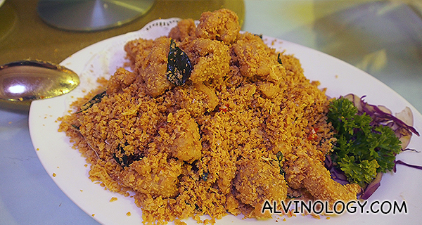 麦片鸡 Golden Cereal Chicken - S: $12, M: $18, L: $24
