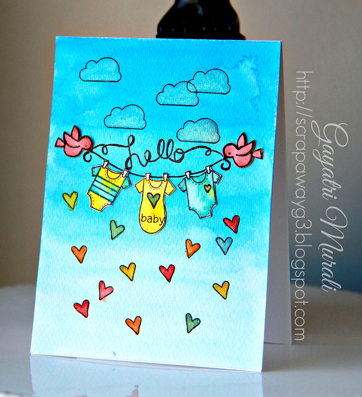 Newton Nook Baby card