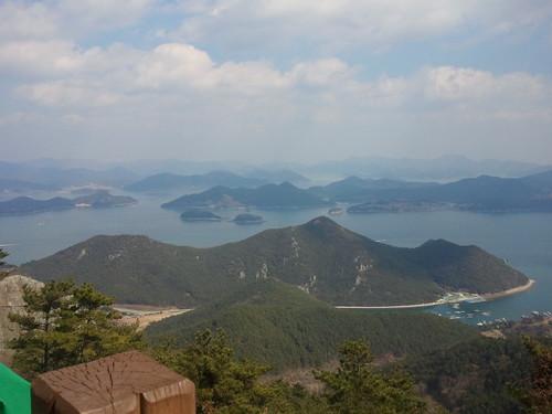 남도여행   통영,한산도