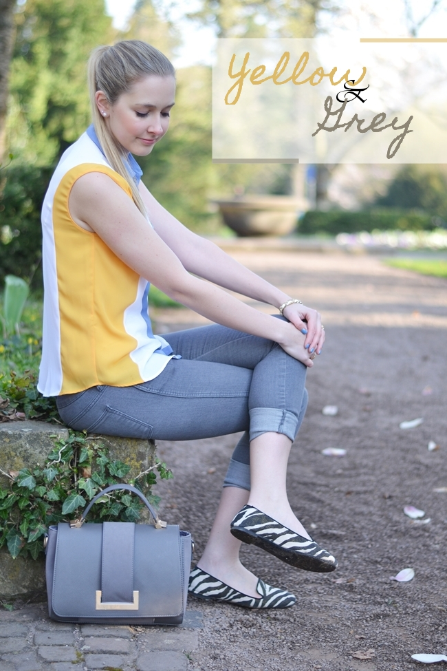 Outfit yellow and grey Banner