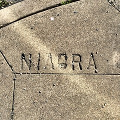 """Niagra"" (Niagara) Avenue and Delano Avenue"