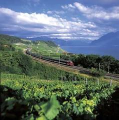 Cestování Švýcarskem– Lavaux-Linie