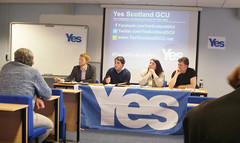 Yes Scotland GCU event, April 2014