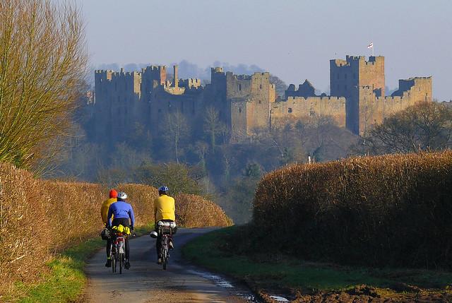 Ludlow Castle. Shropshire, Panasonic DMC-FZ50
