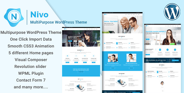 Nivo WordPress Theme free download