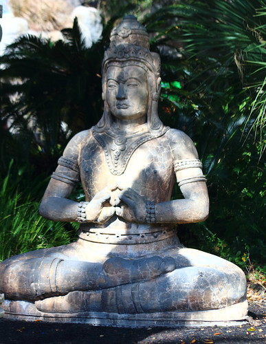 Statue in Lotus Position