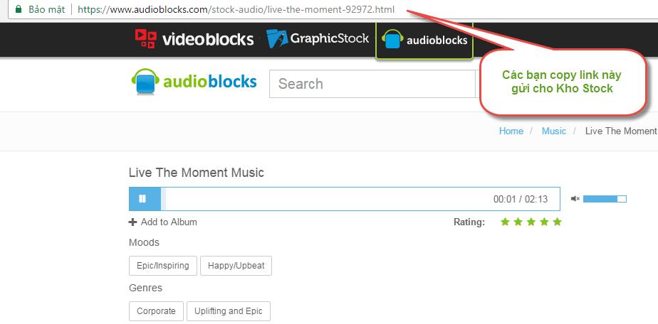Mua nhạc trên Audioblocks giá rẻ mua nhạc trên audioblocks - Mua nhạc trên Audioblocks giá rẻ
