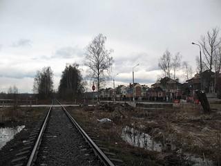 Railway Beskudnikovo - Severnyi in 2007