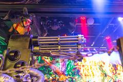 Robot with Machine Gun