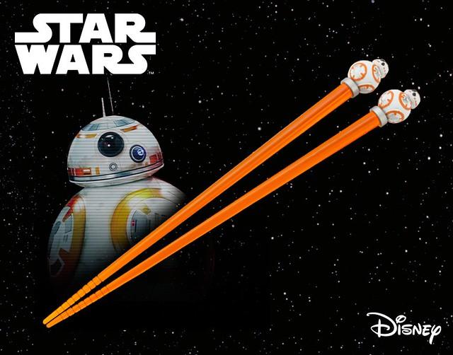 餐桌上,你就是引人注目的焦點,「吉祥物筷子 BB-8」マスコットチョップスティック BB-8 亮眼登場