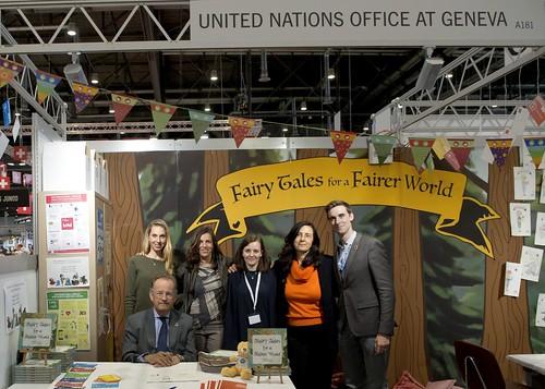 Director General of the UNOG at a Salon du Livre in Geneva