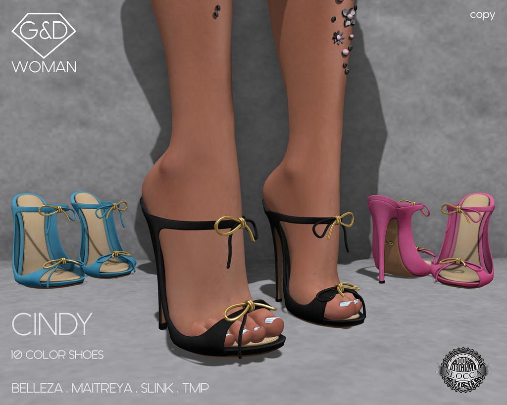G&D Shoes Cindy adv - SecondLifeHub.com