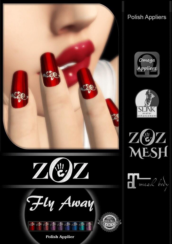 {ZOZ} Fly Away Pix L - SecondLifeHub.com