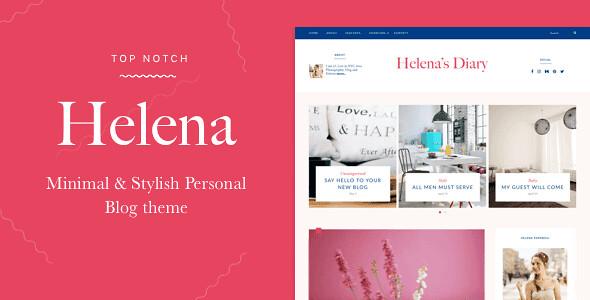 Helena WordPress Theme free download